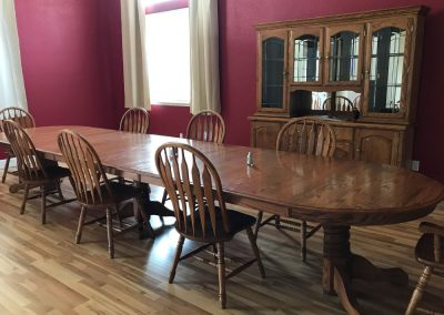 Top Dog Police K9 Training Center with Living Accommodations - dining room
