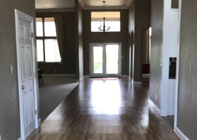 Top Dog Police K9 Training Center with Living Accommodations - entry foyer