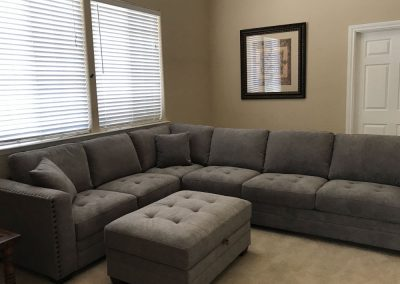 Top Dog Police K9 Training Center with Living Accommodations - living room
